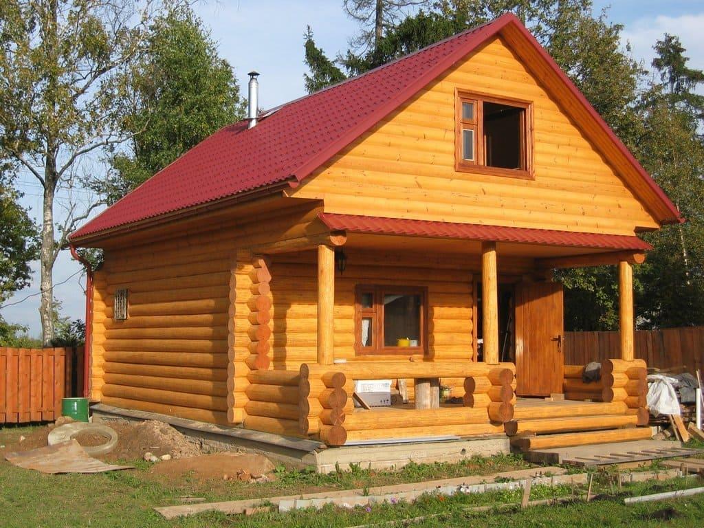 Типовые срубы домов