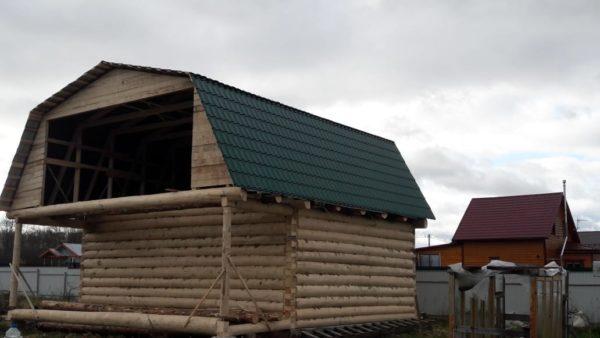 Дом 6х8+2 метра терраса