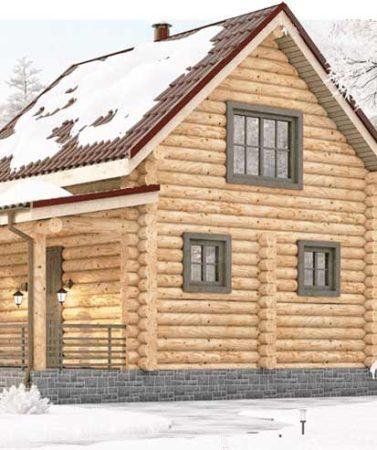 До 31 января СКИДКИ на зимние срубы домов и бань от 5х5 и выше!